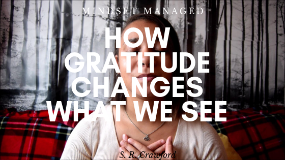 How Gratitude changes what we see