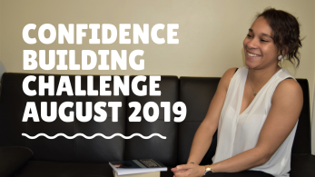 Confidence Building Challenge august 2019