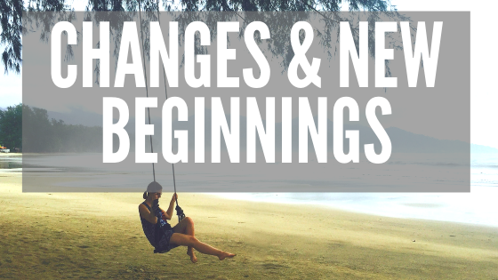 how to deal with changes and new beginnings