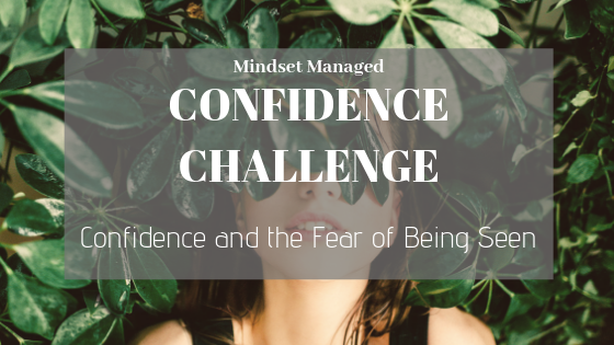 Confidence and the Fear of Being Seen