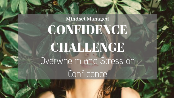Overwhelm and Stress on Confidence