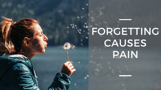 Forgetting Causes Pain