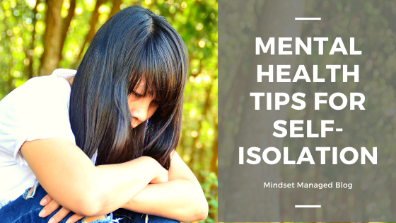 Mental health tips for self-isolation