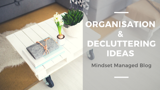 organisation and decluttering ideas