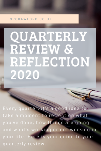 quarterly review and reflection 2020